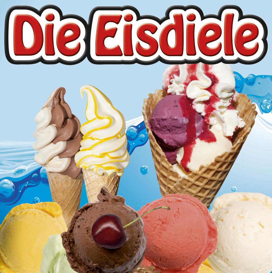 Logo und Eissorten